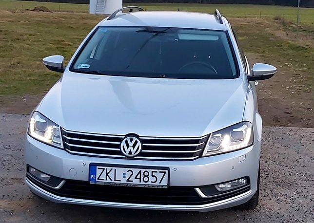VW Passat B7 2.0 TDI-CR Salon Polska Serwis ASO Bi-Xenon LED Navi