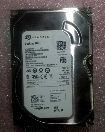 HDD жорсткий диск Seagate 1 Тб 3.5'' 7200 rpm