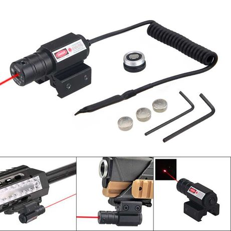 Laser Pointer for airsofht e caça