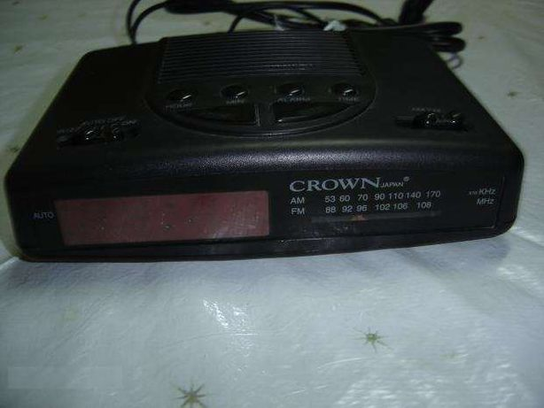 Rádio Despertador CROWN (CRL 338)