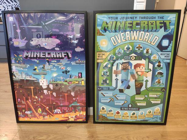 Plakat w ramie Minecraft