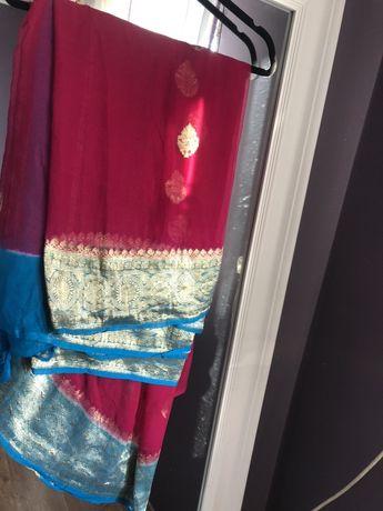 Piekne indyjskie saree sari