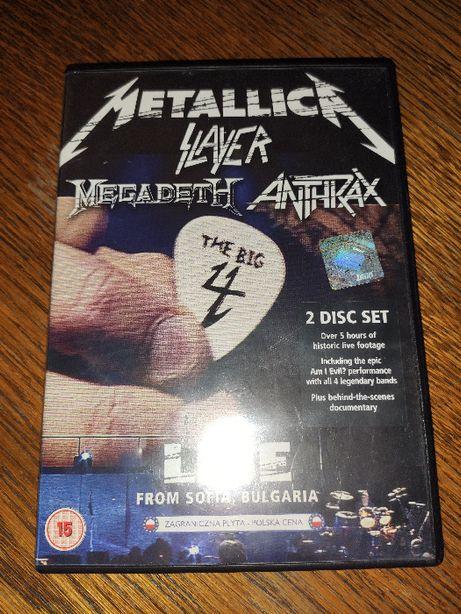 Metallica/Slayer/Megadeth/Anthrax/Big4/Live from Sofia/Bulgaria /2DVD