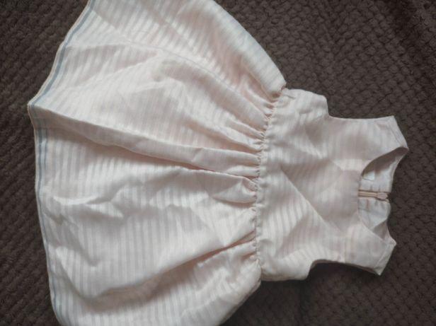 Sukienka dziewczęca plus bloomersy buciki gratis