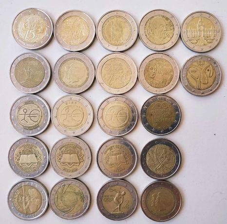 moedas 2 euro comemorativas