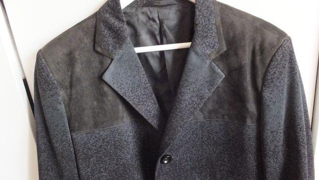 Удлиненный стильный мужской пиджак Time of Style Размер XL наш 48