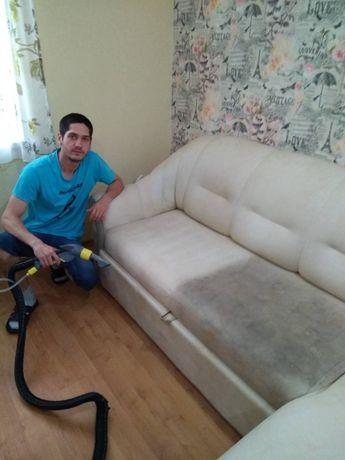 Химчистка мебели, матрасов, чистка диванов, ковров, салонов авто, штор