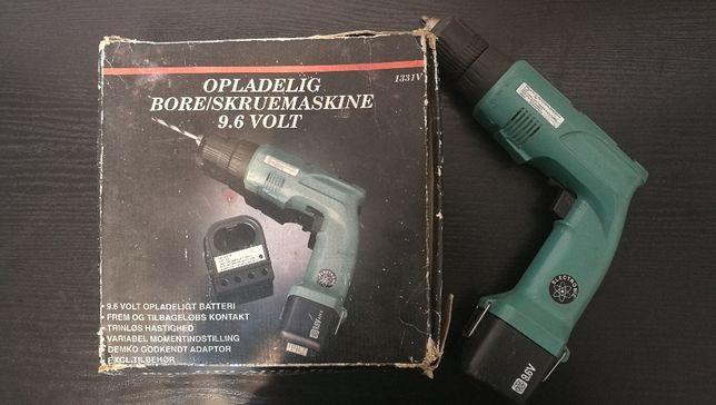 Wiertarko-wkrętarka OPLADELIG BORE 9.6 V retro duńska