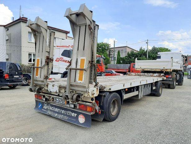 Kotschenreuther Przyczepa niskopodwoziowa/ Pod kontenery !  14 T ładowności ! z Niemiec !