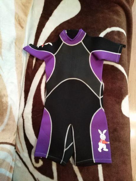 Pianka do pływania dla dziecka, pianka surfingowa z motywem królika