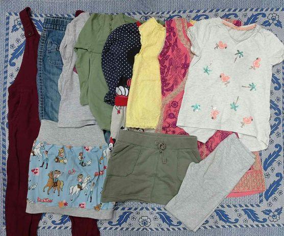 Одежда, вещи девочке на 3-4 года платья футболки юбки кофточки джинсы