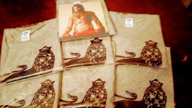 Koszulka z Lwem...w koronie oraz mój Team- FROG POWER SPEED TEAM...