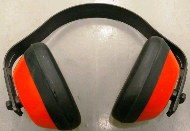 Nauszniki przeciwhałasowe, ochronniki słuchu