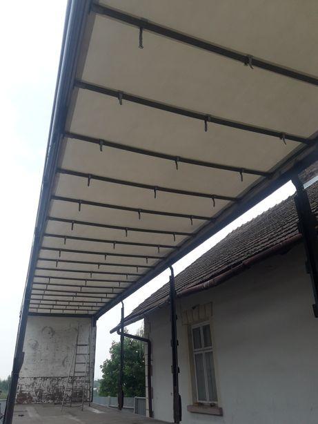 Stelaz dachu do naczepy krone standard