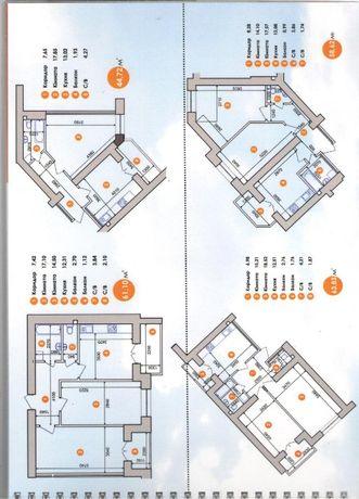 2 кім в ГОТОВОМУ будинку в пасічній . розтермінування до 2-х років