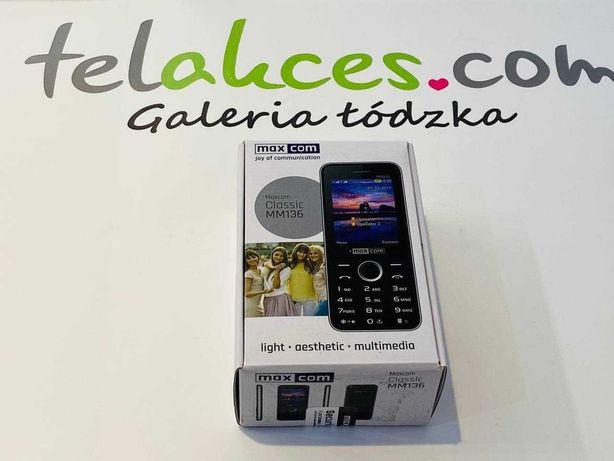 Maxcom Classic MM136 Telakces Galeria Łódzka Cena: 129zł