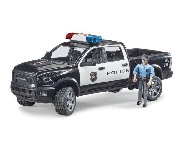 Bruder Pick up Dodge policyjny z figurką
