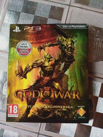PlayStation 3 PS3 God of war Edycja Kolekcjonerska PL