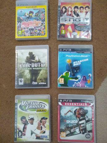 Jogos originais Playstation 3.