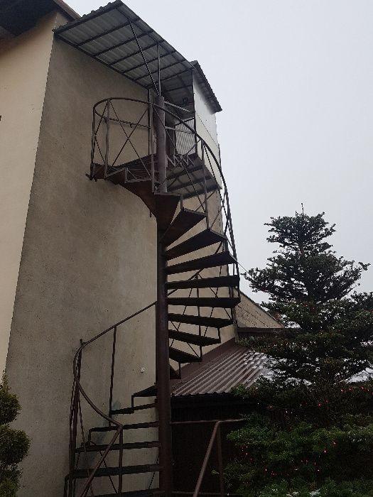 schody metalowe kręcone prawo strone Augustów - image 1