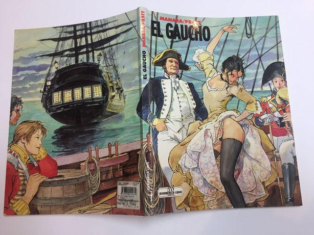 Banda desenhada - EL GAUCHO -Manara/Pratt