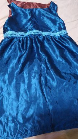 Двустороннее платье в греческом стиле, на 6-7 лет, б/у
