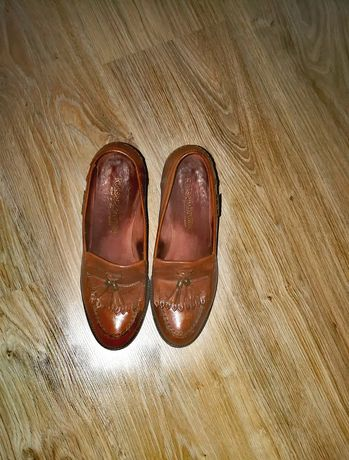 Туфли кожаный женские