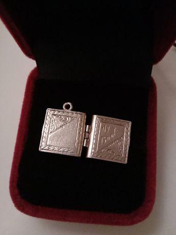 Кулон серебро старина антиквариат