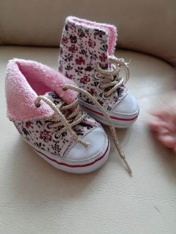 Пинетки кроссовочки  кеды чопики для малышки
