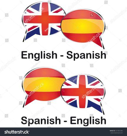 Репетитор английского и испанского языков.