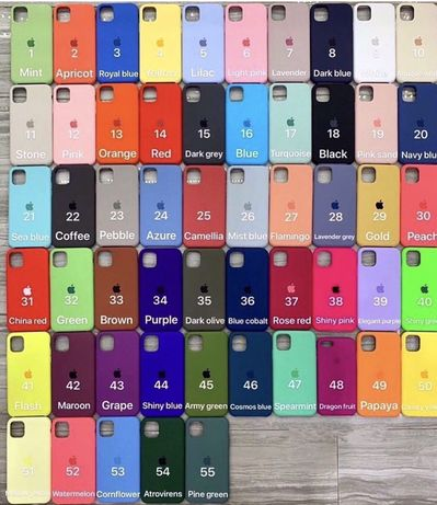 Silicone case для Iphone6/6s6+/6s+,7/8,7+/8+/X/Xs/Xr/Xsmax/11