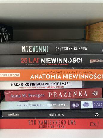 Różne książki - 25 lat niewinnosci, niewinni, prażeńka, masa, mleko i