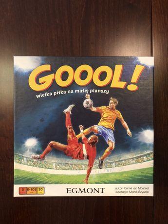 Goool! - wielka piłka na małej planszy, Egmont gra planszowa