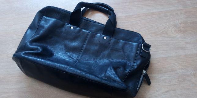 Joseph Abboud Weekend Bag Mala de Couro
