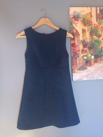 Granatowa sukienka Mohito rozmiar 34