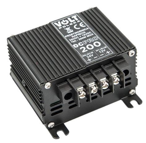 Reduktor napięcia 24/12v przetwornica prądu 200w [PRZ53]