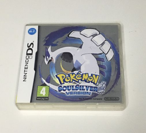 Pokémon SoulSilver Nintendo DS completo