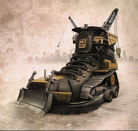 Спецобувь 42 рабочая обувь 43 рабочие ботинки 44 защитная обувь 45 CAT