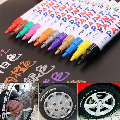 Маркер Paint для шин колёс покрышек карандаш по резине