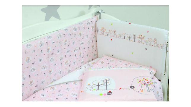 Комплект постельного Veres в манеж,кроватку, детское постельное белье