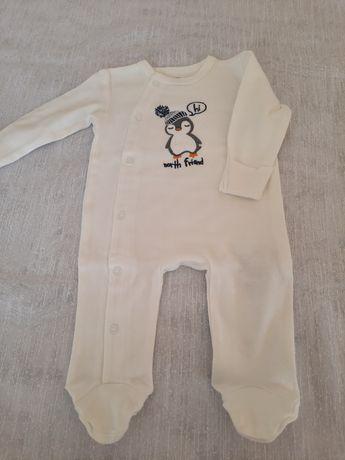 Pajacyk cool club 62r, ubranko, wyprawka dla chłopca.
