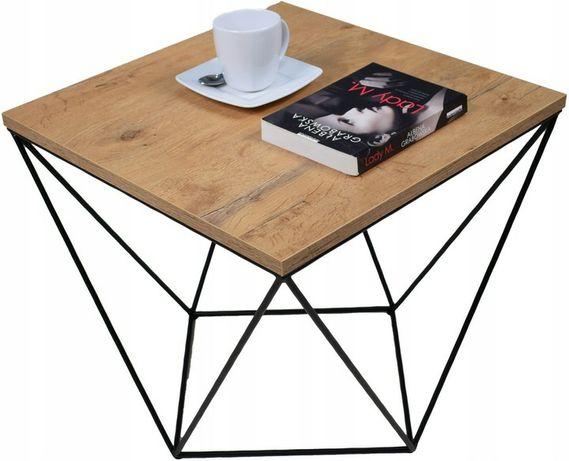 Elegancki stolik kawowy loft