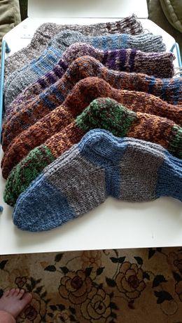 Вязаные носки (ручная работа)
