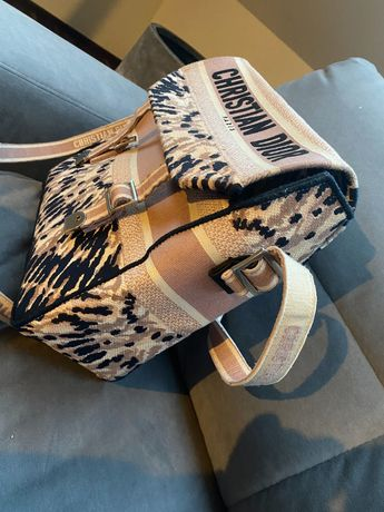 Christian Dior torebka piękna Materiał Chanel