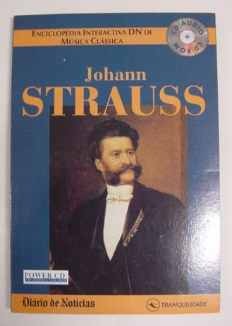 CD Johann Strauss - áudio e interactivo