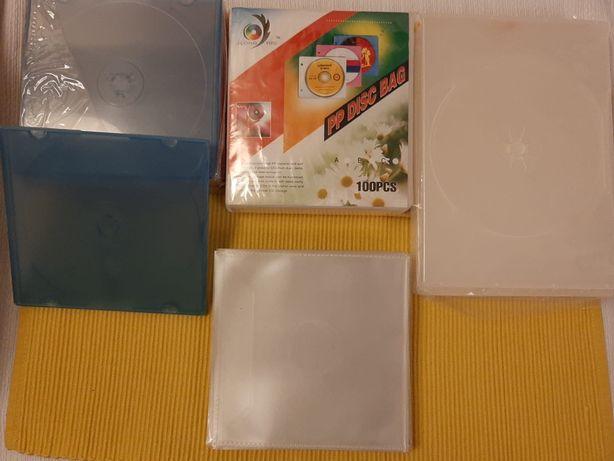 Caixas para CD arquivo