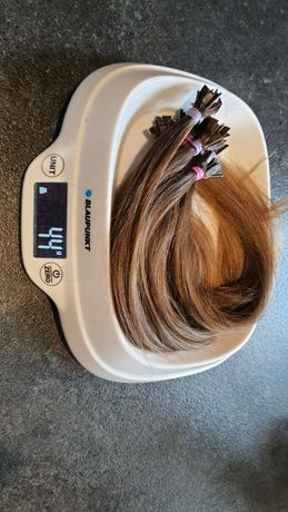 Włosy naturalne dziewicze metoda keratynowa