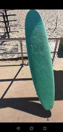Softboard surf 8ft com fins, leash