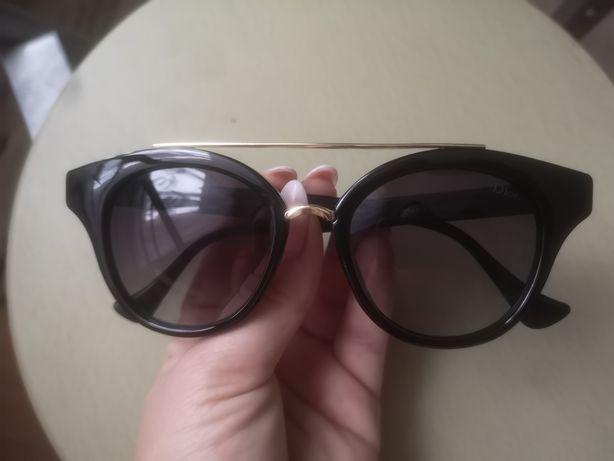 Okulary przeciwsłoneczne pilotki Aviator glmaour Dior nowe