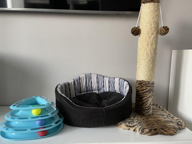 Когтеточка,кровать и игра для кота